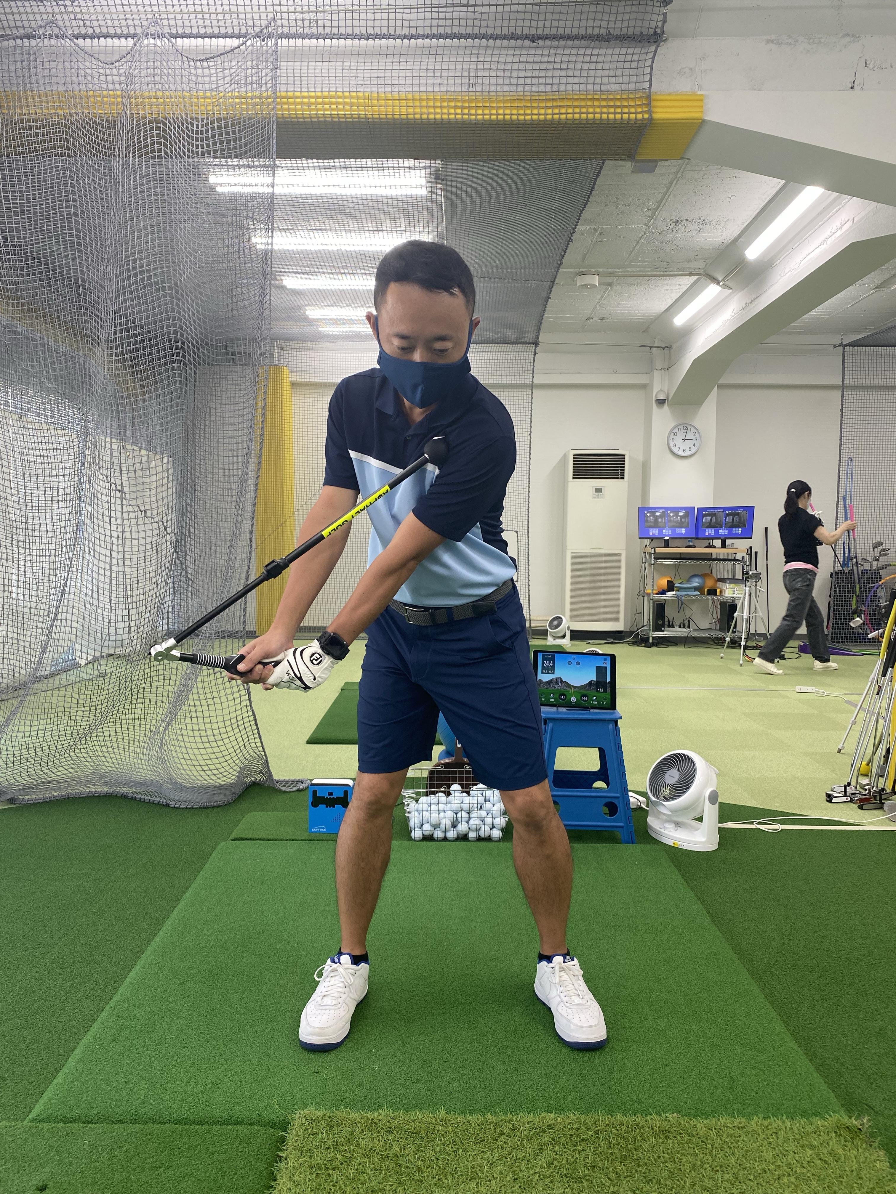 最新練習器具入手!パート①│池袋ゴルフアカデミー本校初心者館