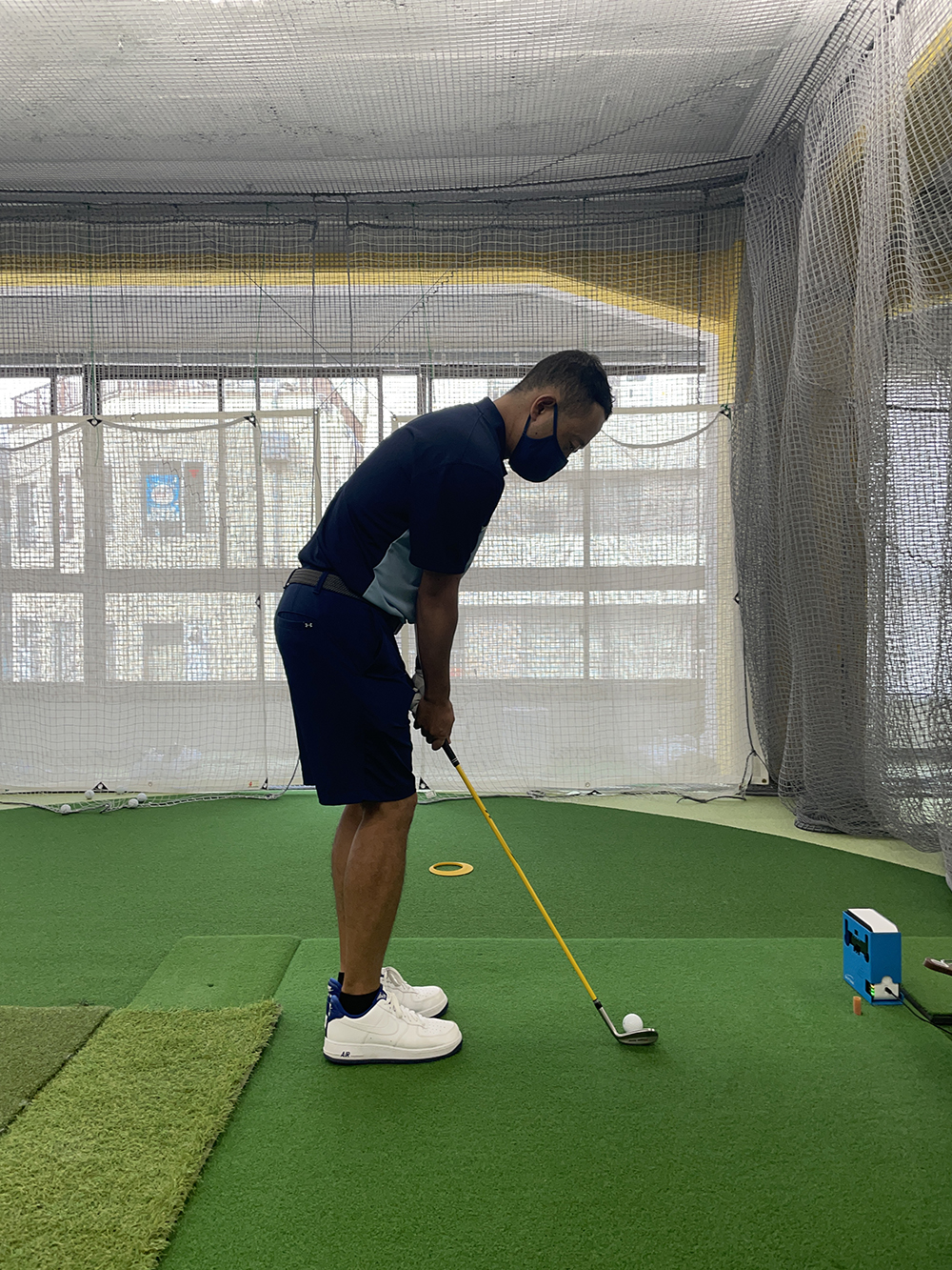 アプローチのリズム早くないです⁉︎│池袋ゴルフアカデミー本校初心者館